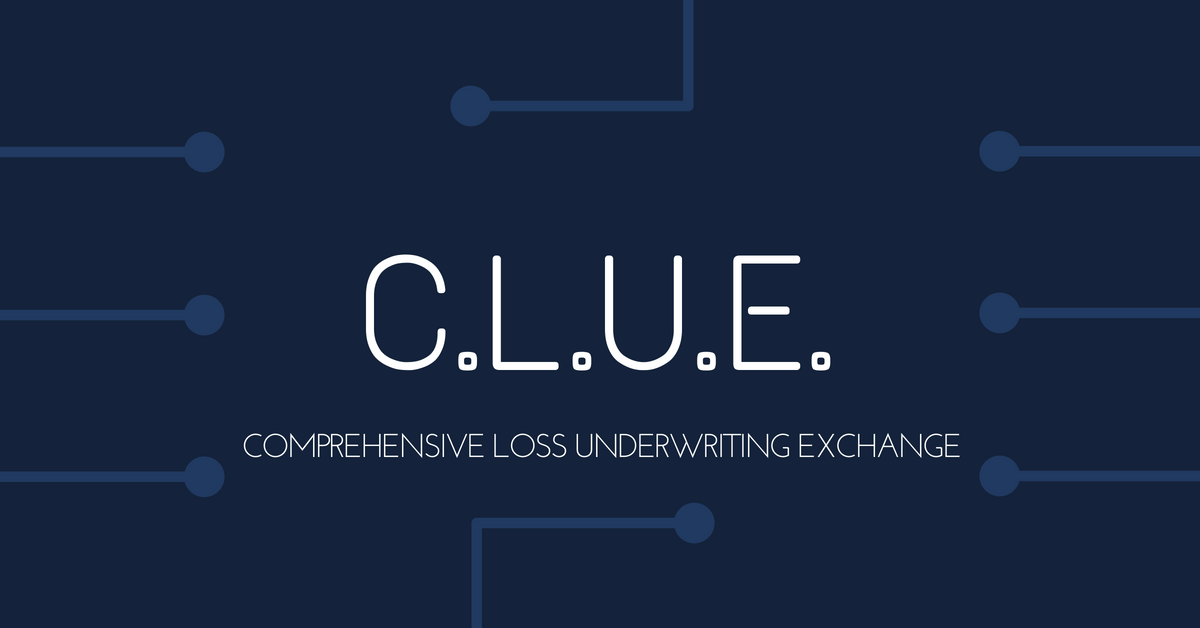CLUE (Comprehensive Loss Underwriting Exchange) The Insurance Company Database