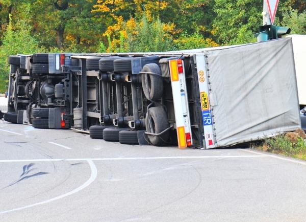 60,000 Pound Truck Crashes, Show Major Dangers